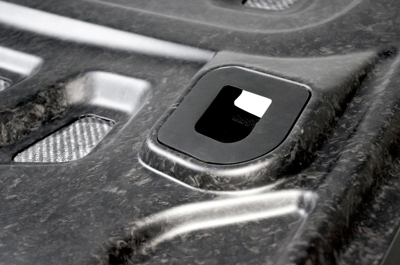 Forged Carbon Porsche Hood
