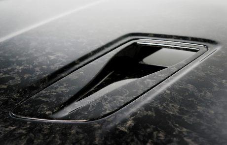 Porsche Forged Hood Closeup Vent